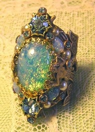 mermaid ring: Mermaid Ring, Opal Rings, Style, Beautiful, Mermaids, Jewels, Antique, Opals