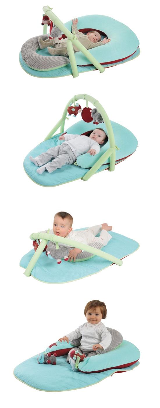 Le tapis d'éveil évolutif Latitude Enfant http://www.latitudeenfant.fr/aff_produit.php?id=252=