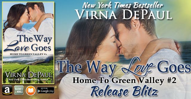 Smokin' Hot Reads: Release Blitz and Giveaway: The Way Love Goes by Virna DePaul