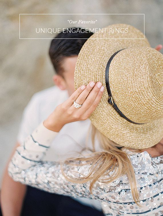 Our favorite unique engagement rings | Jewelers Mutual insurance | 100 Layer Cake