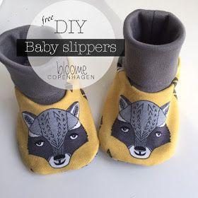 Bloome Copenhagen: DIY - Baby Slippers