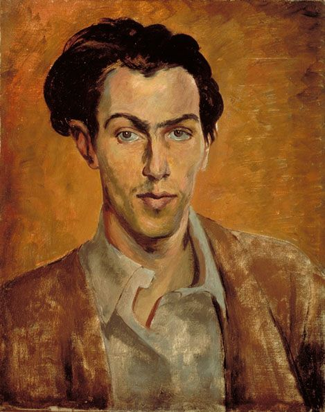 Robert Colquhoun (Scottish, 1914-1962),Self-portrait. 1940. Oil on canvas. Scottish National Portrait Gallery, Edinburgh.