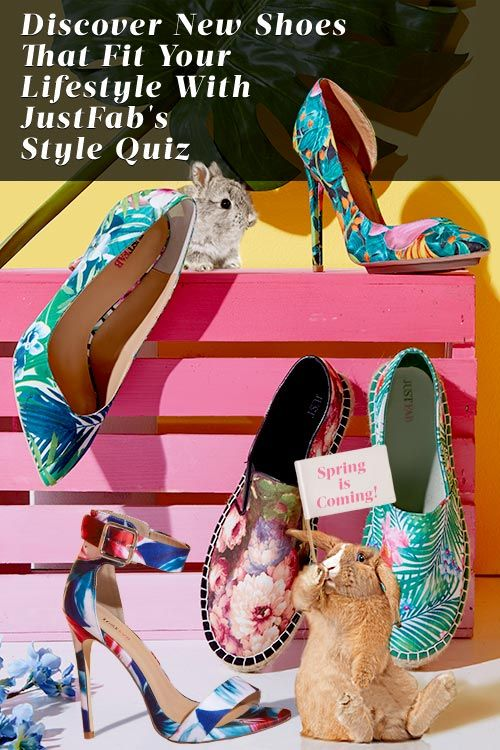 A new season ushers in a whole new set of trends — and we can't get enough of bold Shoes! Whether you prefer a classic shoe or love the look of an edgy shoe, you can't go wrong with these finds. Discover Shoes for Spring with JustFab's Style Quiz