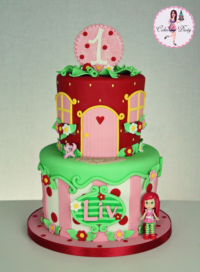 134 Best Images About Strawberry Shortcake Cakes On