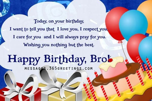 happy birthday to my brother from sister - Google Search
