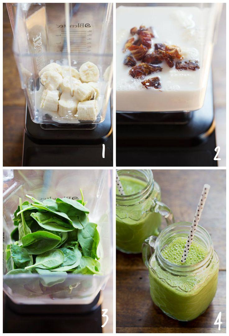 Smoothie verde con 4 ingredientes | ActitudFEM