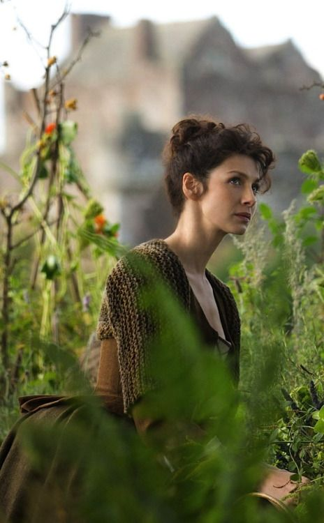 Caitriona Balfe as Claire Randall Fraser in Outlander