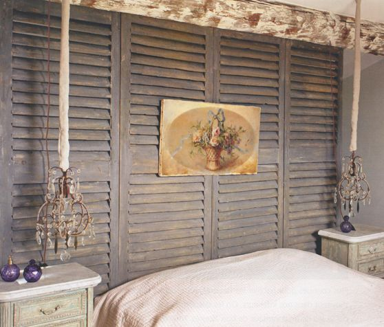 7 best detourner des volets en bois images on Pinterest Old window