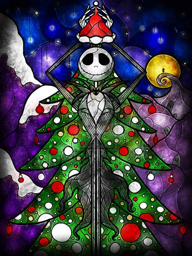 Nightmare Before Christmas Wallpaper Android.Jack And Sally Wallpaper For Android Ls
