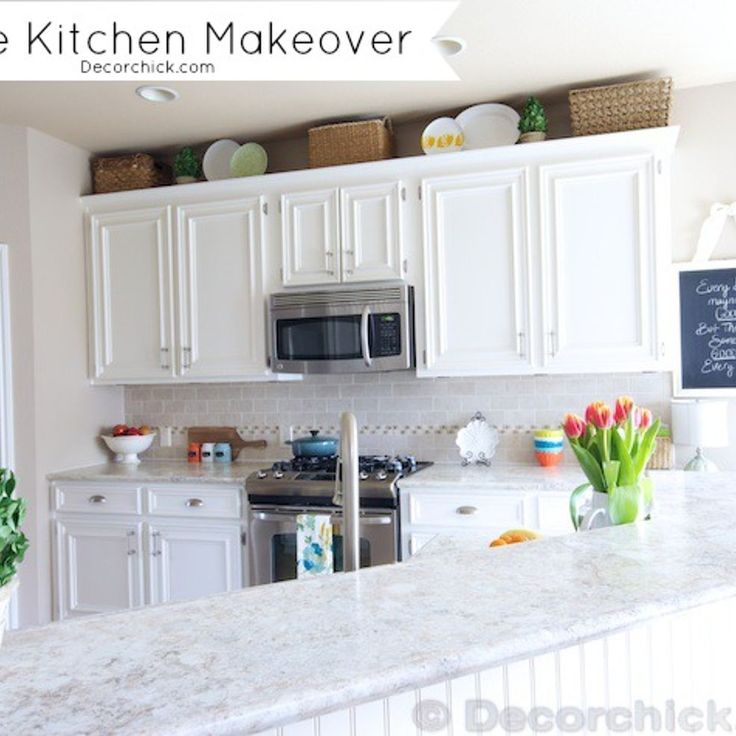 16 Nicely Painted Kitchen Cabinets: 16 Best White Subway Tile Grey Grout Images On Pinterest