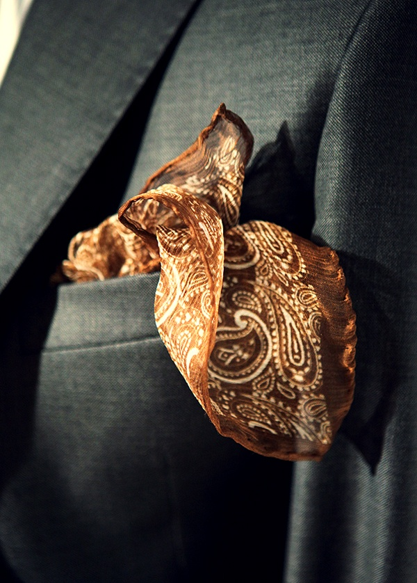 I like paisley pattern and the color is nice.