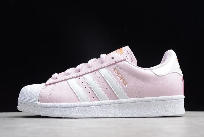 designer fashion 2a10c 4cee3 Womens adidas Superstar PinkWhite-Metallic Gold AC7077