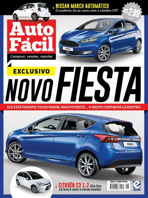 Next-gen Ford Fiesta in Ford's Kinetic Blue - Rendering