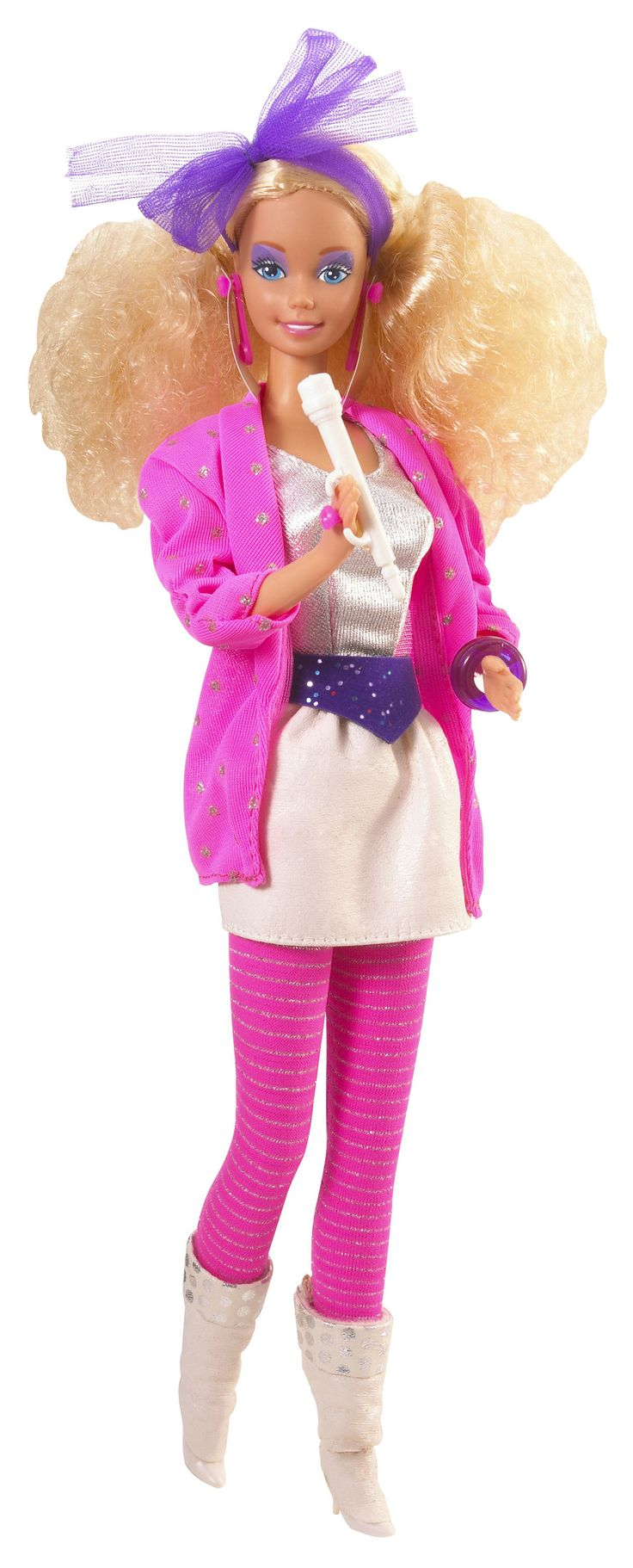 In 1986, Barbie was a rock star. Photo credit: Mattel Inc.