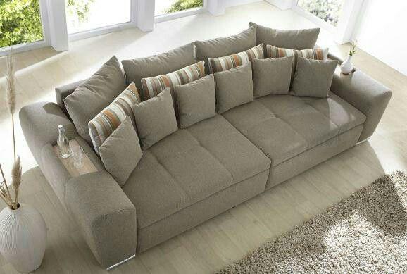 Big Sofa Möbel Pinterest Big sofas, Living rooms and Room - big sofa oder wohnlandschaft