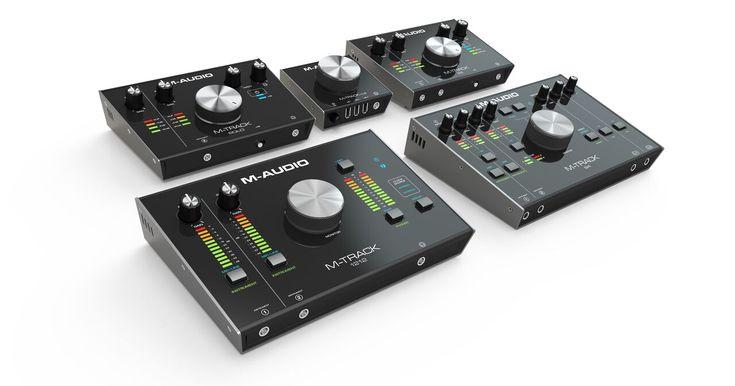 M-Audio M-Track Audiointerfaces