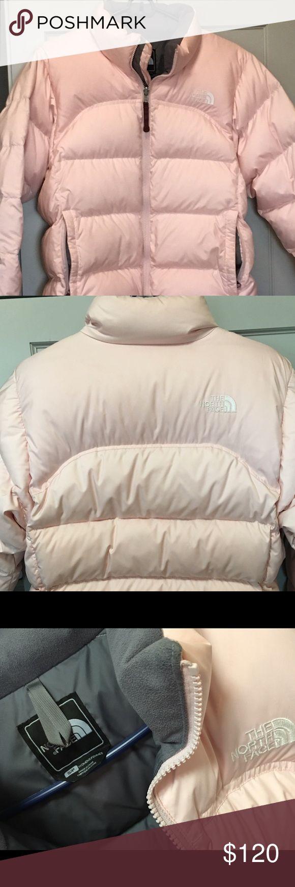 Like new North-face 700 winter coat Beautiful light pink Like new condition North Face 700 Winter Coat!  So warm! North Face Jackets & Coats Puffers
