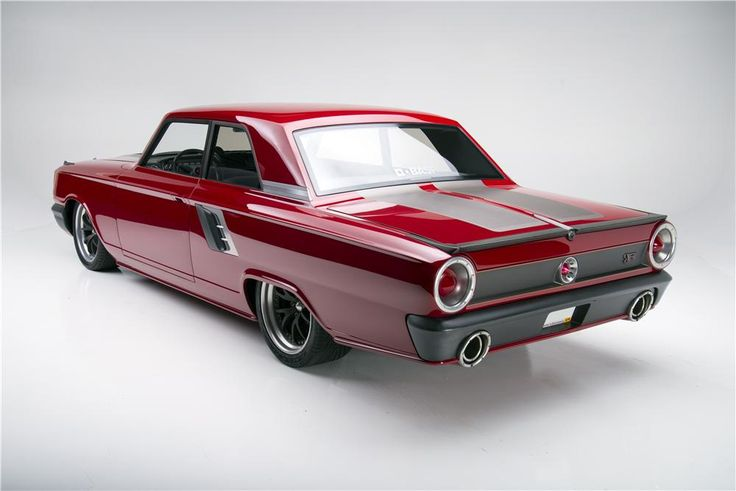 "1964 FORD FAIRLANE 500 CUSTOM ""AFTERBURNER"" - Rear 3/4 - 160968"