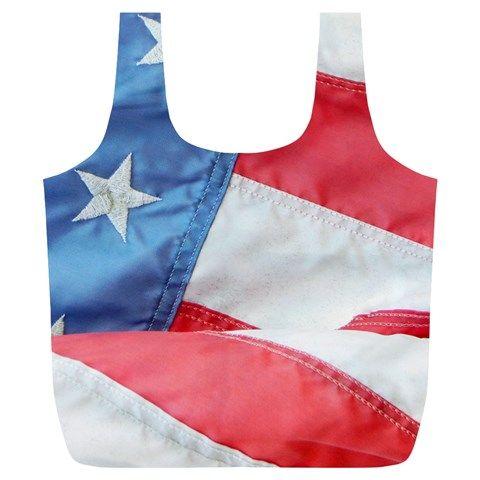 Folded+American+Flag+Full+Print+Recycle+Bags+(L)+