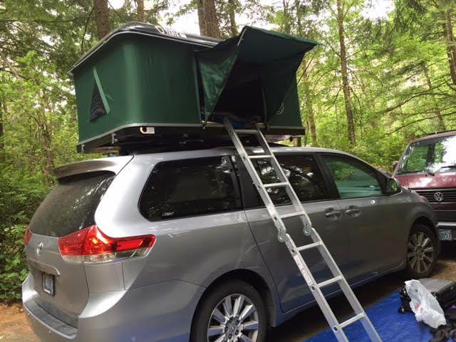 Camping Van Toyota Sienna Www Bigfoottents Com Family
