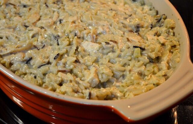 Chicken Amp Wild Rice W Water Chestnuts 1 Box Uncle Bens Wild Rice 5 Min Ready Rice 1 C