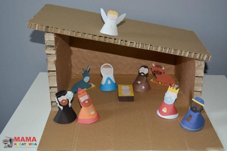 Szopka na Boże Narodzenie, którą dziś prezentuję to bardzo proste i szybkie DIY. Każdy da radę zrobić ją samodzielnie.      Szopka na Boże Narodzenie jest bardzo prosta do wykonania. Przy minimalnym nakładzie finansowym możemy stworzyć swoją oryginalną szopkę, którą możemy ustawić na przykład pod choinką. Święta