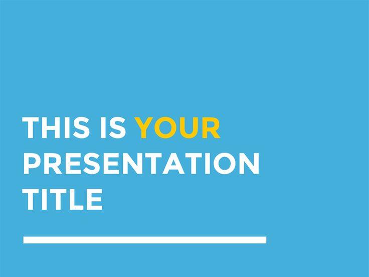 as 25 melhores ideias de free presentation templates no pinterest, Powerpoint templates