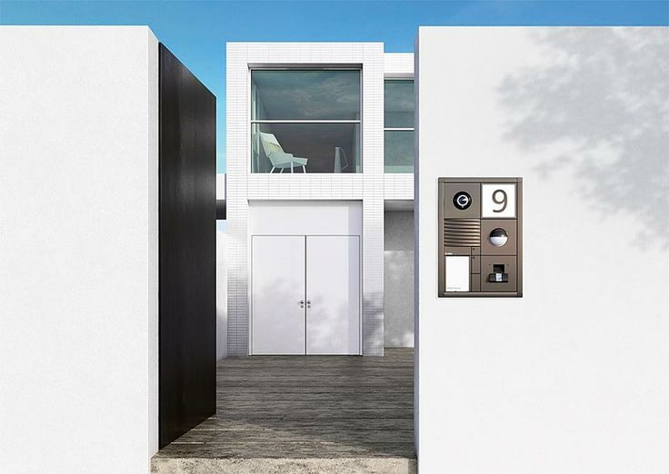sss siedle door station vario the modular icon. Black Bedroom Furniture Sets. Home Design Ideas