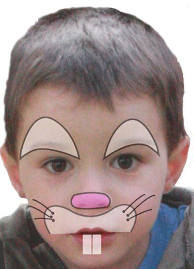 Maquillage enfant Lapin , Tuto maquillage enfant , Loisirs créatifs