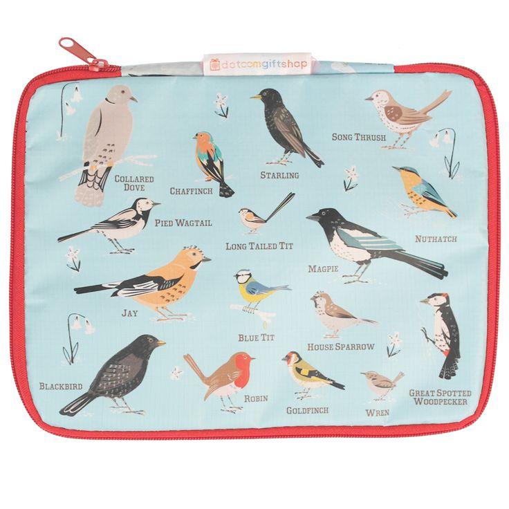 Garden Birds Tablet Case | DotComGiftShop
