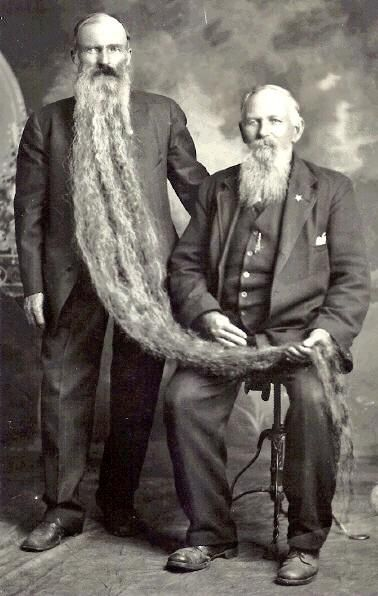 vintage everyday: Awesome Pictures of Long Beards in the Past That You Have Rarely Seen Today