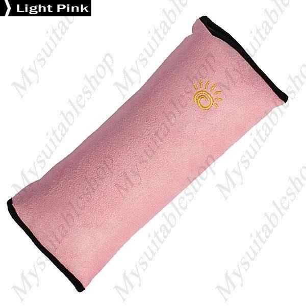 Children Safety Strap Soft Headrest Neck Support Pillow Shoulder Prote – mysuitableshop