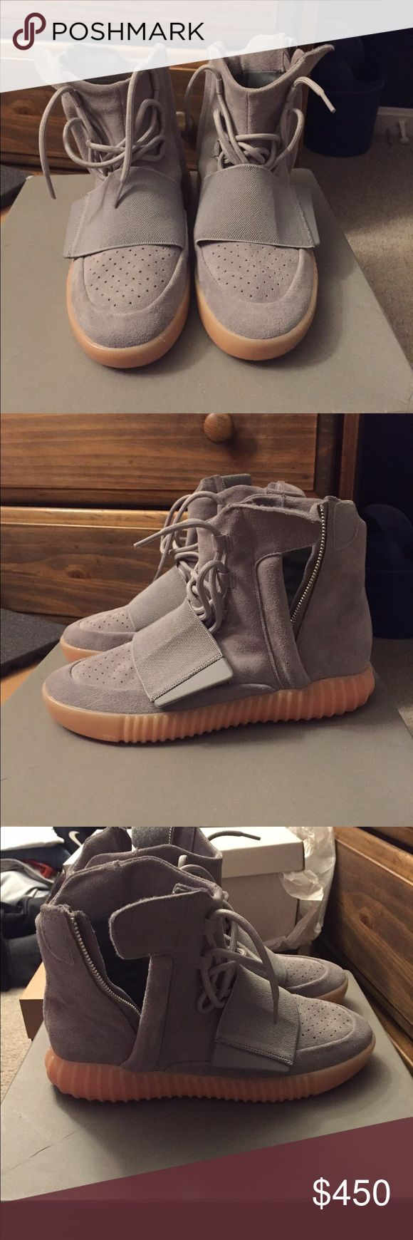 Yeezy 750 Boost Size 8.5 yeezy 750 Boost never worn brand new. Great looking shoes! Adidas Shoes Athletic Shoes