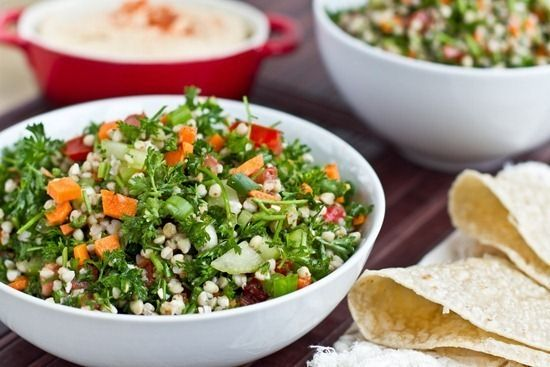 cilantro lime spelt berry salad packed with veggies cilantro lime ...