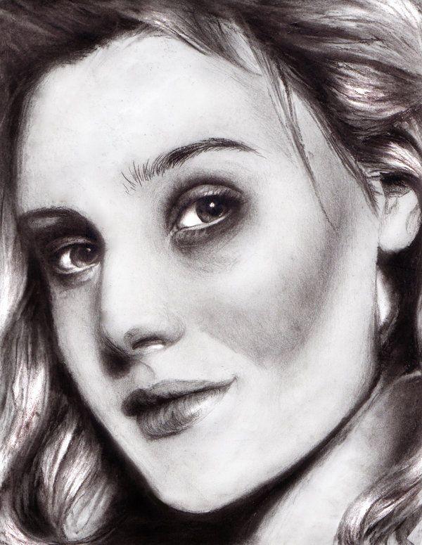 Romola Garai by maxvinyl, drawing  http://RomolaGarai.org