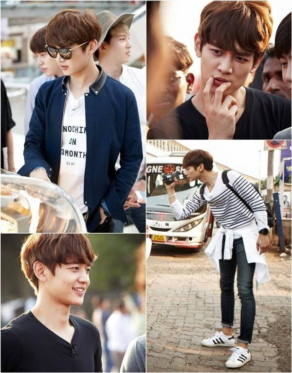 "150331 Minho - KBS 2TV's new variety show ""Fluttering India"""