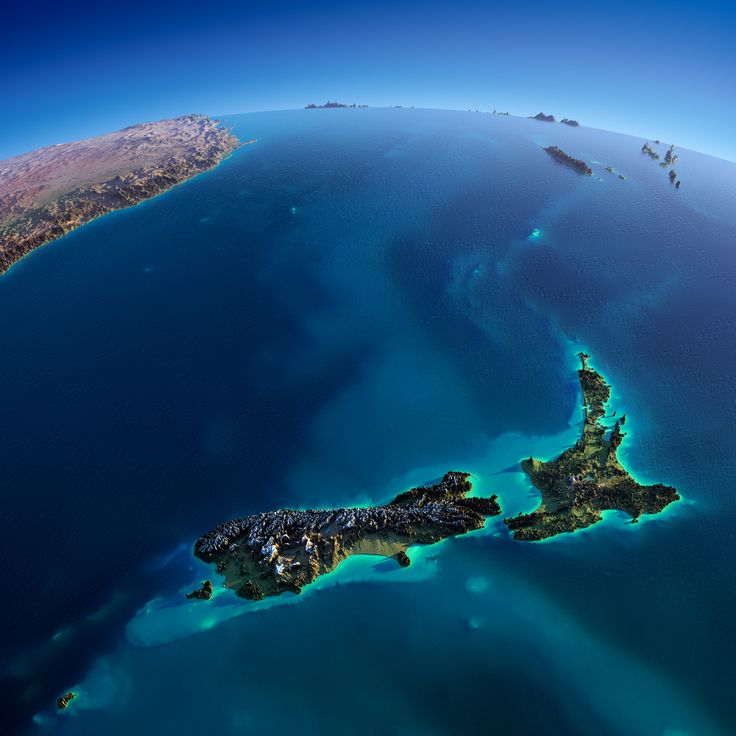New Zealand is the Youngest Country in the world - the last major habitable landmass to be discovered.