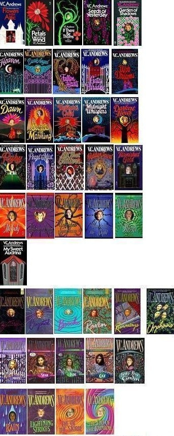 A superb list of V.C. Andrews' books in their series!