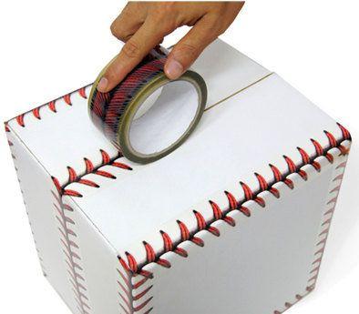 Baseball stitches design tape