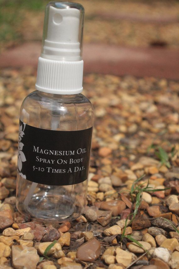 Magnesium Oil. You absorb magnesium better topically. Helps you sleep better, great for your skin, relieves headaches, muscles cramps, and stress.