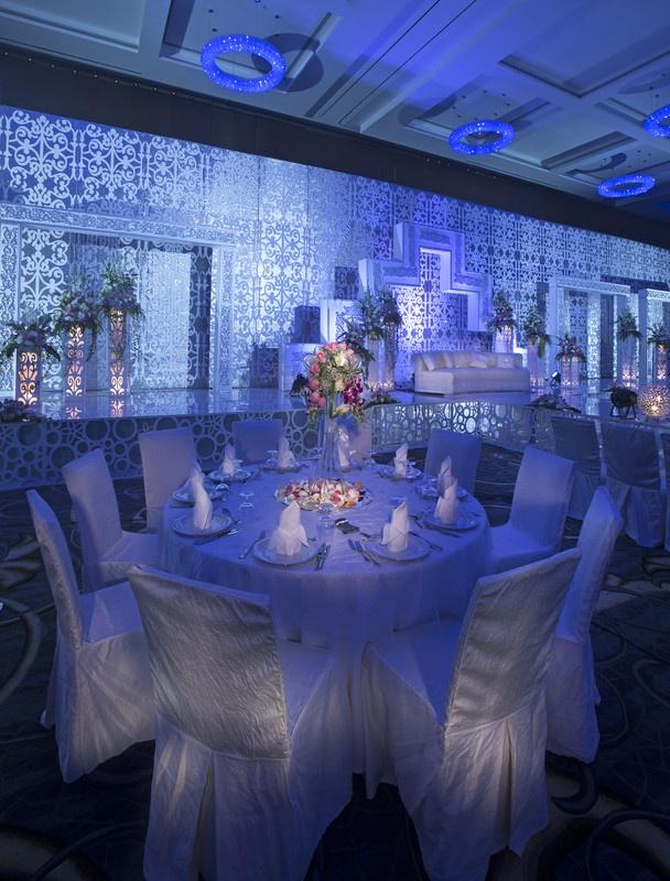 Jumeirah at Etihad Towers Hotel, Abu Dhabi - Honeymoon Destinations - Mezzoon Ballroom Wedding