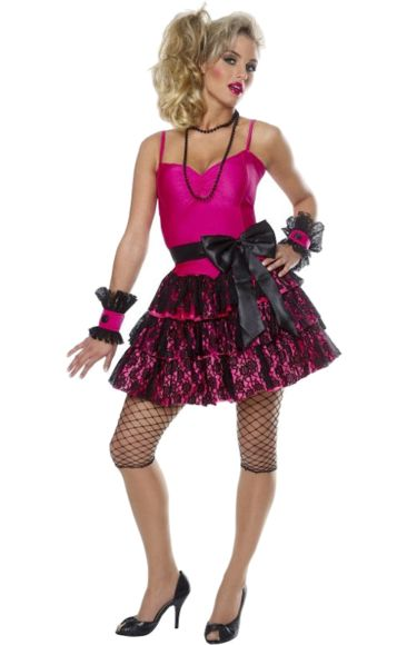 Adult 80s Party Girl Costume | Jokers Masquerade