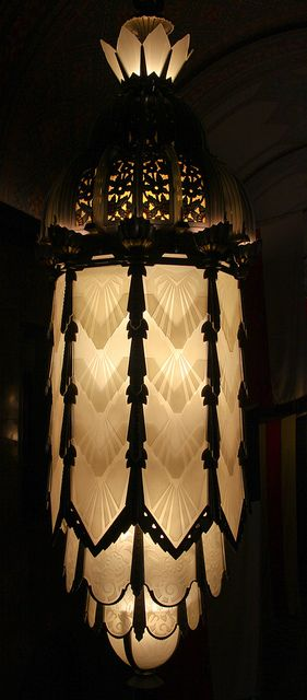 Art Deco Lamps | Flickr - Photo Sharing! Found on flickr.com FlickrArt Deco Lamps by kaszeta on Flickr