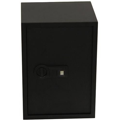 Personal Safe X-Large with Biometric Lock 2 Shelves, Black