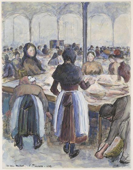 le marché 1889
