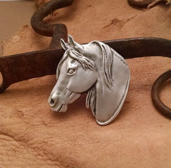 Morgan Horse Pin / Brooch . Horse Jewelry by JudyVargasDesign