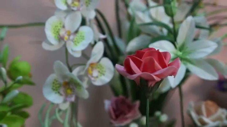 «Ручная работа». Карвинг: роза из сахарной мастики (11.02.2015)