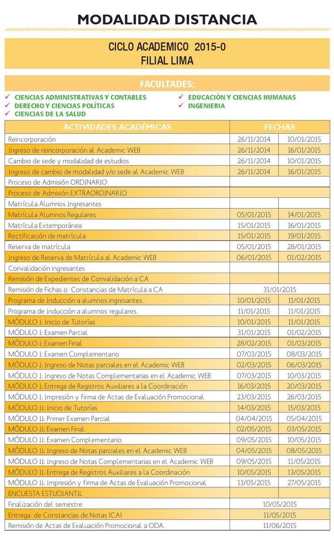 #ClippedOnIssuu from Calendario Académico 2015