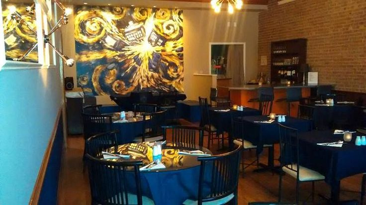 Doctor Who themed restaurant in New York (click for article)