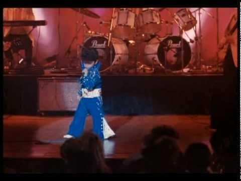 """6-year old Bruno Mars as """"Little Elvis"""" from Honeymoon in Vegas (1992)"""